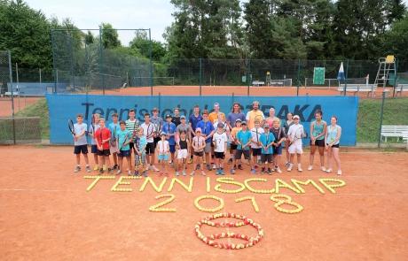 Tenniscamp 2018
